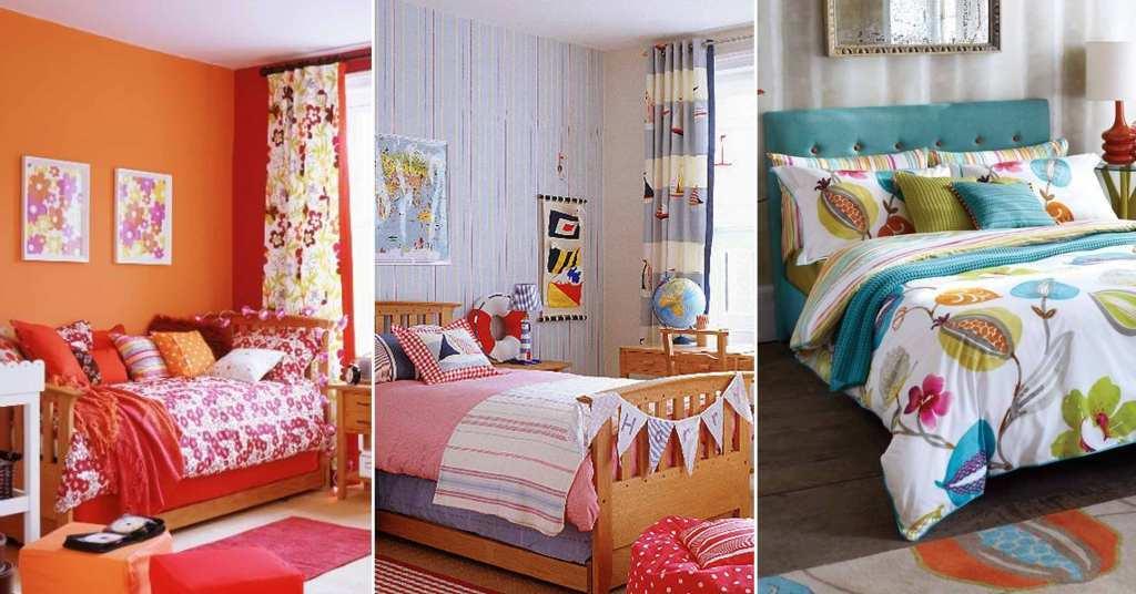 20 ไอเดียห้องนอนสีสันสดใสผสมผสานหลากสีในห้องเดียว