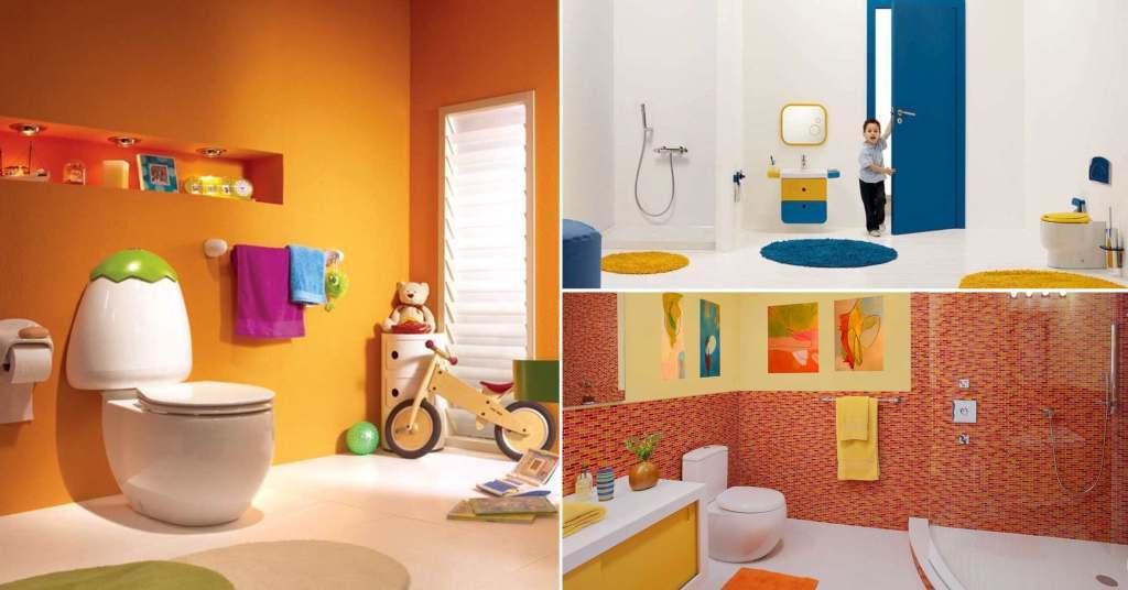 แต่งบ้านเอาใจคุณหนูด้วยการตกแต่งห้องน้ำเด็กให้กลายเป็นโลกแห่งจินตนาการ