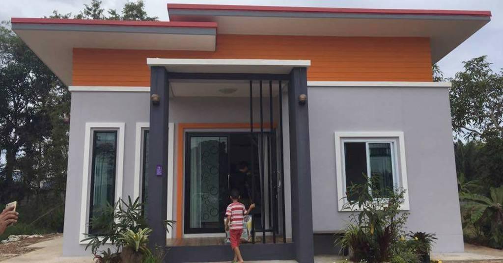 บ้านชั้นเดียวสไตล์โมเดิร์น ดีไซน์เรียบง่าย โดดเด่นทันสมัย ด้วยงบ 650,000 บาท