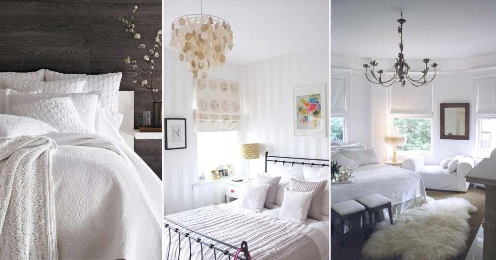 20 ไอเดียห้องนอนโทนสีขาว สวยสะอาด สบายตา