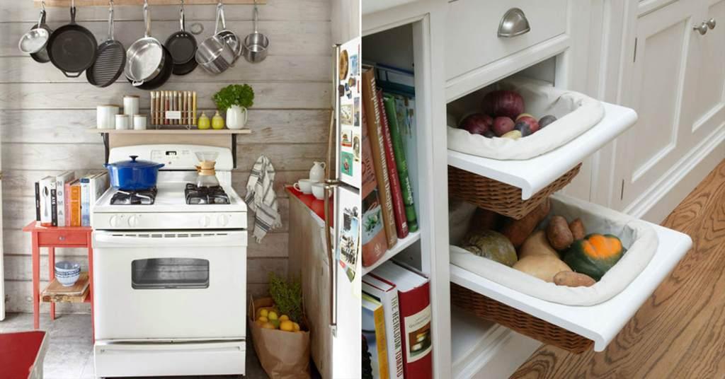 20 ไอเดียที่เก็บของสุดเก๋ในห้องครัว สวยและใช้ประโยชน์ได้ด้วย