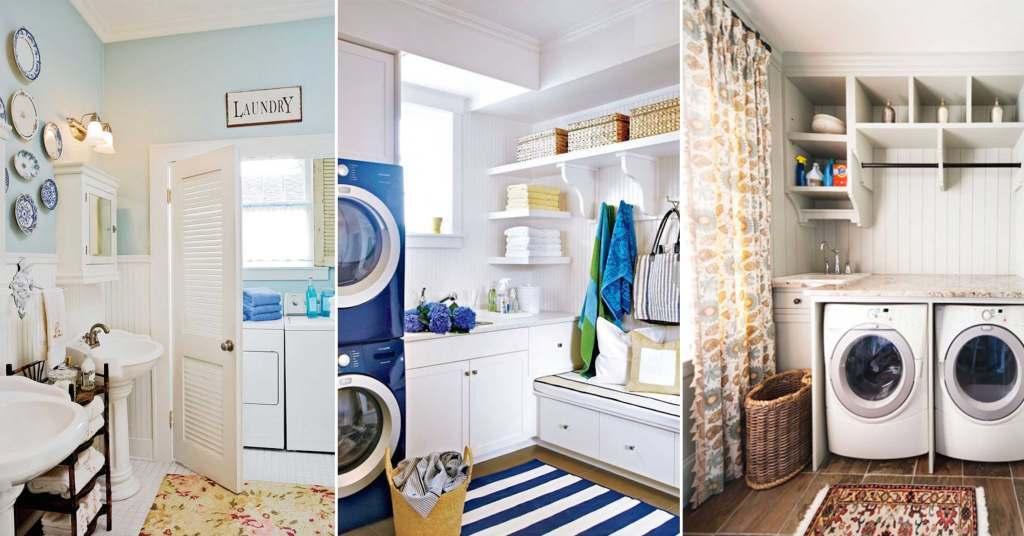 25 ไอเดียห้องซักรีดสำหรับบ้านที่มีพื้นที่จำกัด