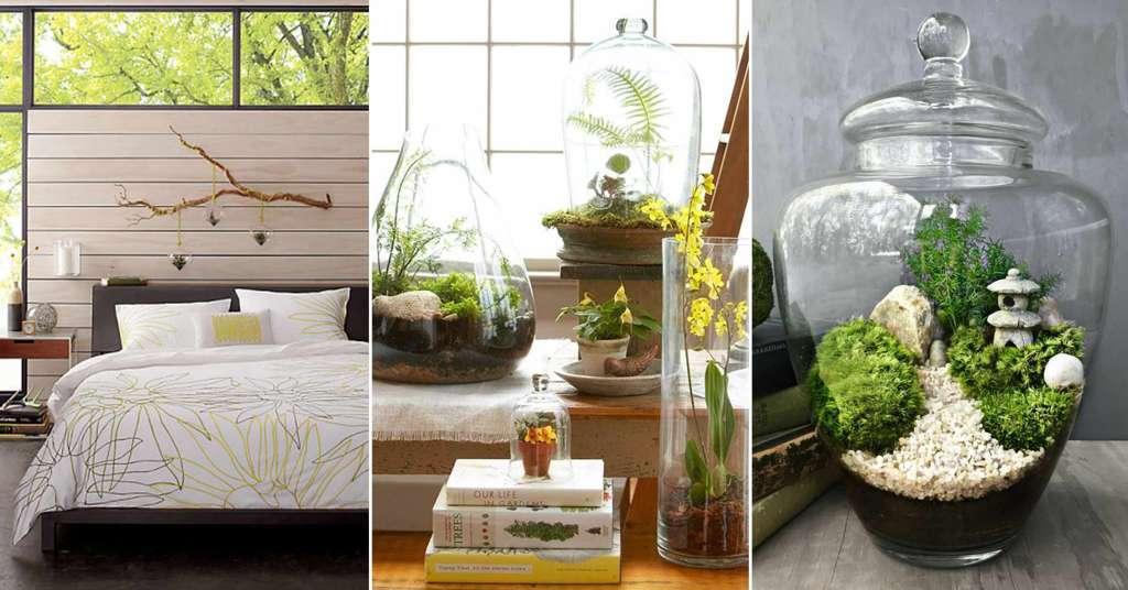จัดสวนสวยในห้องนอนด้วยสวนน้อยในโหลแก้ว Terrarium
