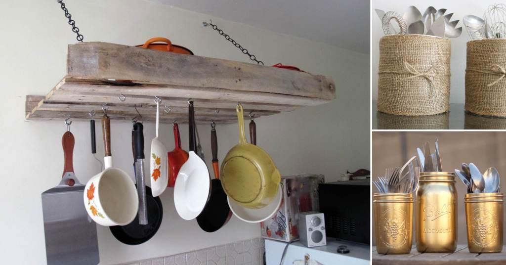 20 ไอเดียการตกแต่งห้องครัวแบบ D.I.Y