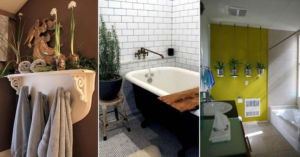 20 ไอเดียการตกแต่งห้องน้ำด้วยการ D.I.Y เพื่อให้ได้ของตกแต่งที่คุ้มค่า