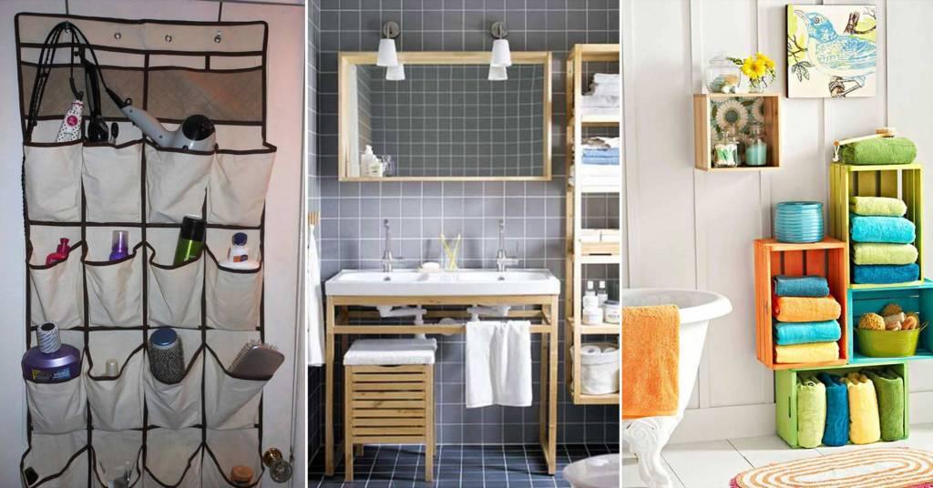 20 ไอเดียการตกแต่งห้องน้ำสวยด้วยงาน D.I.Y ที่สร้างประโยชน์ได้ดี