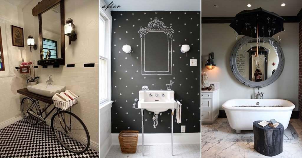 20 ไอเดียการตกแต่งห้องน้ำสวยด้วยงาน D.I.Y สร้างประโยชน์ในงานฝีมือ