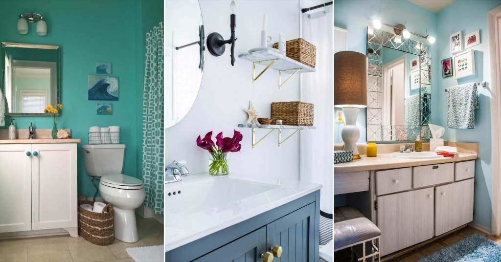 20 ไอเดียตกแต่งห้องน้ำขนาดเล็กให้ใช้งานได้อย่างคุ้มค่าและสวยงาม