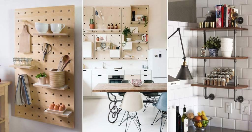 20 ไอเดียการตกแต่งห้องครัวแบบ D.I.Y ที่ให้ประโยชน์ในการใช้งานอย่างเต็มที่