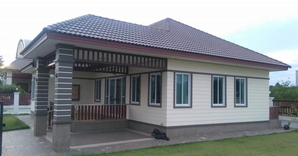 บ้านเดี่ยวชั้นเดียว ที่พักสุดแอคครูซีฟสำหรับคนอยากมีบ้านเป็นของตัวเอง
