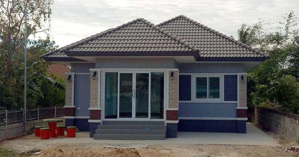 บ้านโมเดิร์นอินเตอร์แบบชั้นเดียว  อีกหนึ่งทางเลือกสำหรับคนอยากมีบ้าน