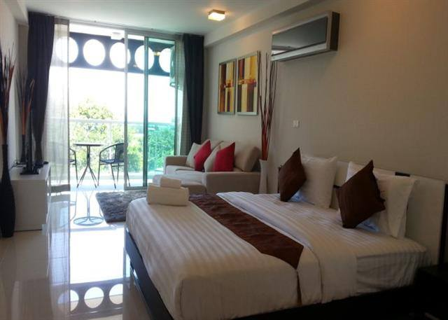 DDR- 0001316 Condo Pattaya Park Royal Sea View Pratumnak 4Fl คอนโดพระตำหนัก