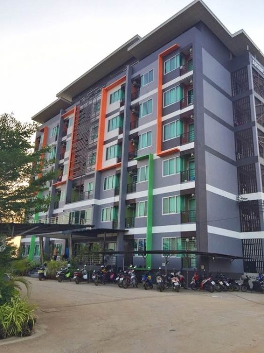 ขายหอพักหรู 80 ห้อง 7 ชั้น เนื้อที่ 1 ไร่ ติดมหาวิทยาลัยมหาสารคาม (มมส.ใหม่) 095-6646749 ธนัท