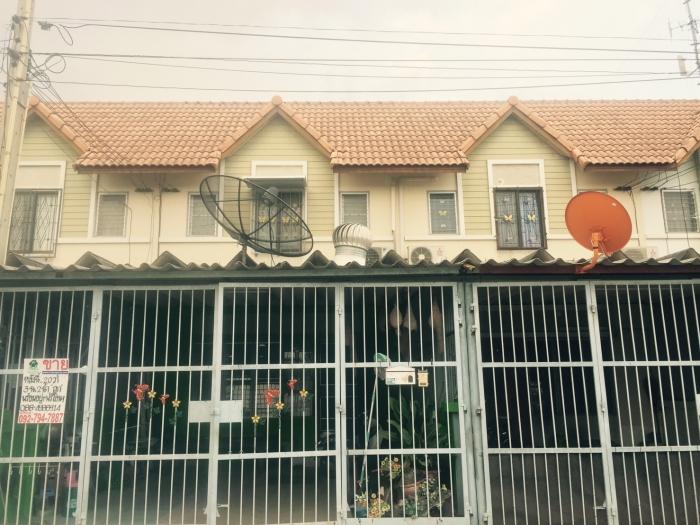 ขายทาวน์เฮ้าส์2ชั้น หมู่บ้านแฟมิลี่แลนด์ อ.เมือง  จ.ชลบุรี  พื้นที่ 20 ตร.ว ทำเลทองเหมาะกับการลงทุน/พักอาศัย