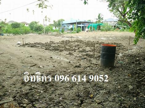 ขายที่ดินแปลงสวย 174 ตร. วา ติดถนนใหญ่ ใกล้สถานีรถไฟฟ้าบางบำรุ