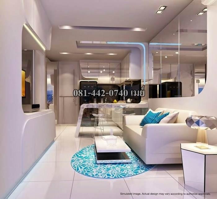 ขายคอนโด CCR City Center Residence เฟอร์ครบ ใกล้วิลล่ามาร์เก็ต พัทยา 081-442-0740 เมย์