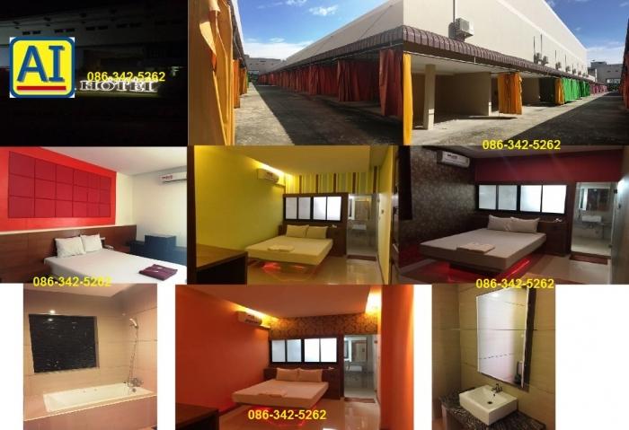 0392 ขายโรงแรม 50 ห้อง พร้อมใบอนุญาต ถ.ราชพฤกษ์ ใกล้ HomeWork  HomePro The Walk Crystal ราชพฤกษ์