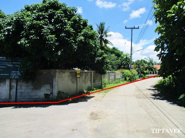 22378 ขายที่ดินเชียงใหม่ บ้านสวนลำไย ใกล้โรงพยาบาลสันป่าตอง เชียงใหม่ / Land with Building for SALE, Near Sanpatong Hospital, Chiangmai, THAILAND.