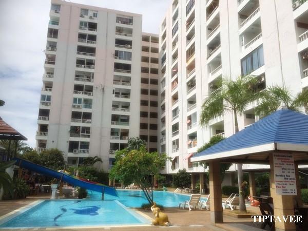 00004 ให้เช่าคอนโดพัทยา ห้องชุด เก้ากะรัตคอนโด พัทยากลาง ชลบุรี / Pattaya Condo for Rent, 9 KARAT CONDOMINIUM, Central PATTAYA, Chonburi, THAILAND