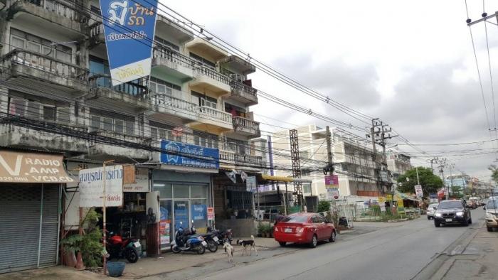 ขายตึกแถวเรวดี อาคารพาณิชย์เรวดี ติดถนน ใกล้รถไฟฟ้าสายสีม่วง