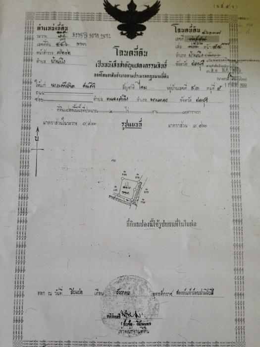 ขายที่ดิน อ.บ้านบึง จ.ชลบุรี รูปที่ 1