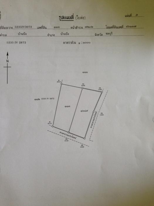 ให้เช่าที่ดิน 1 ไร่ ซอยไร่ชานเมือง อ.บ้านบึง จ.ชลบุรี รูปที่ 2
