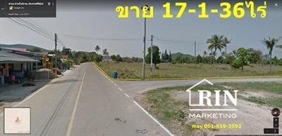 ขายที่ดินเปล่าสวยติดแมงโก้โฮม รีสอร์ท ติดถนน 2 ด้าน 061-619- 2592 เมย์