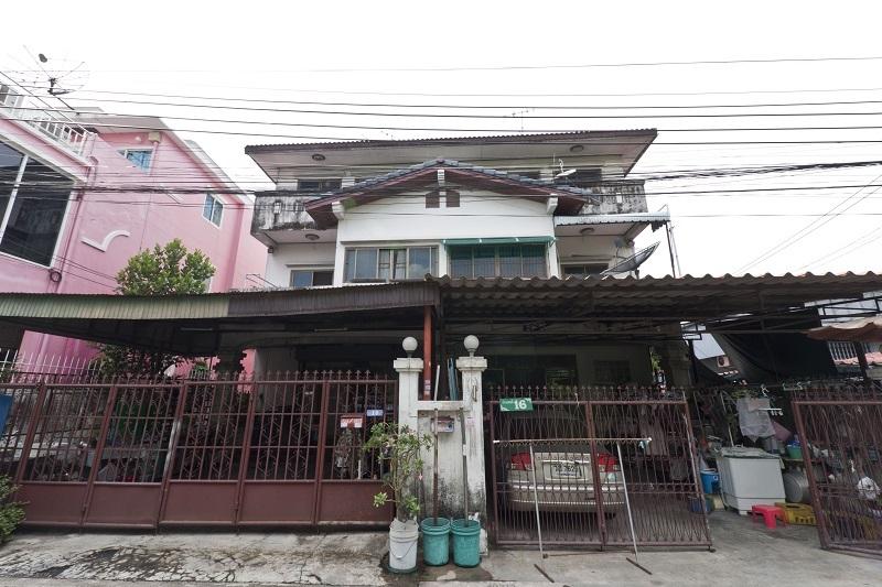 ++ ขายบ้านแฝด ++ 47 ตรว. ซ.คู้บอน 4 จากแยกรามอินทราเพียง 350 เมตร ใกล้โครงการรถไฟฟ้าสายสีชมพู