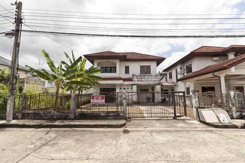 ขายบ้านเดี่ยว มณีรินทร์ ท่าอิฐ ไทรม้า 54 ตรว ราคาถูก มีพื้นที่นอกบ้าน ใกล้ตลาดท่าอิฐ เดินทางสะดวก ใกล้ถนนราชพฤกษ์ รัตนาธิเบศร์ และ MRT