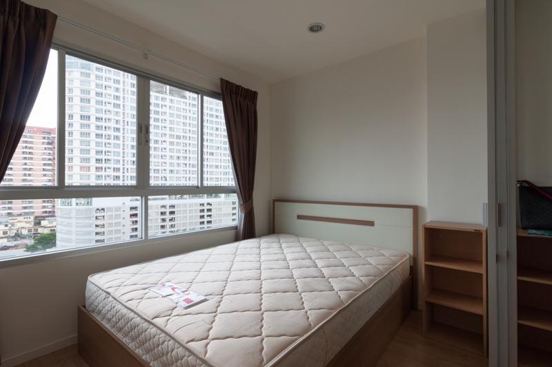 ++ ให้เช่าคอนโด ++ Lumpini Ville รามคําแหง 60/2 ขนาด 22.5 ตรม 1 ห้องนอน ชั้น 9 ใกล้แยกลำสาลี