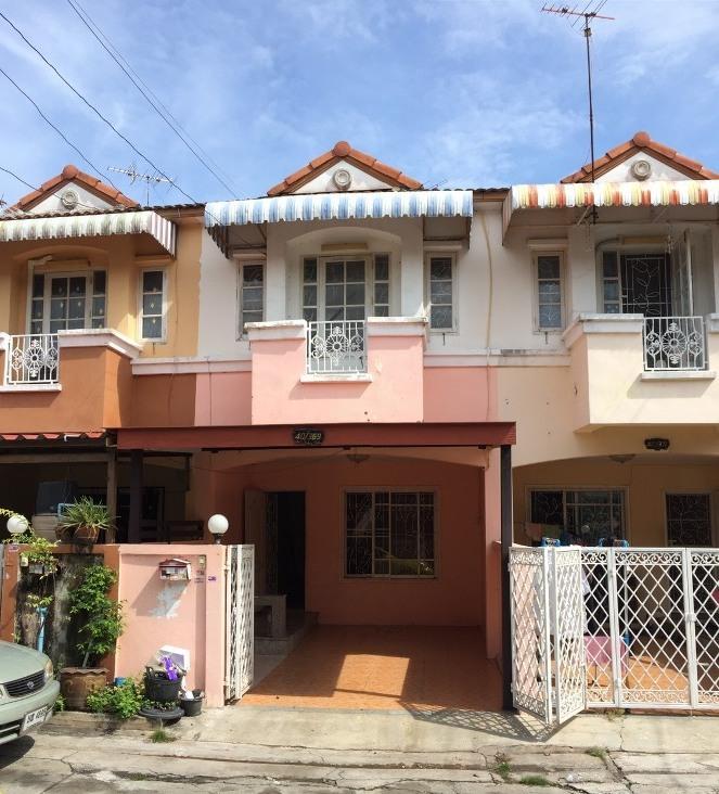 ขายทาวน์เฮาส์ หมู่บ้านเคซี 8 เนื้อที่ 16 ตรว.ถนนไทยรามัญ หทัยราษฎร์ เขตคลองสามวา สภาพสวย