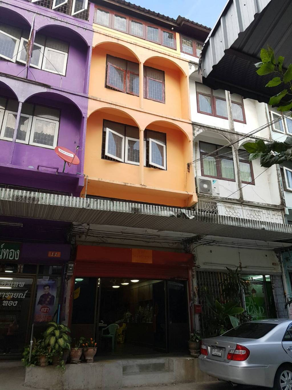 อาคารพาณิชย์ 5 ชั้น ตึกสีส้ม