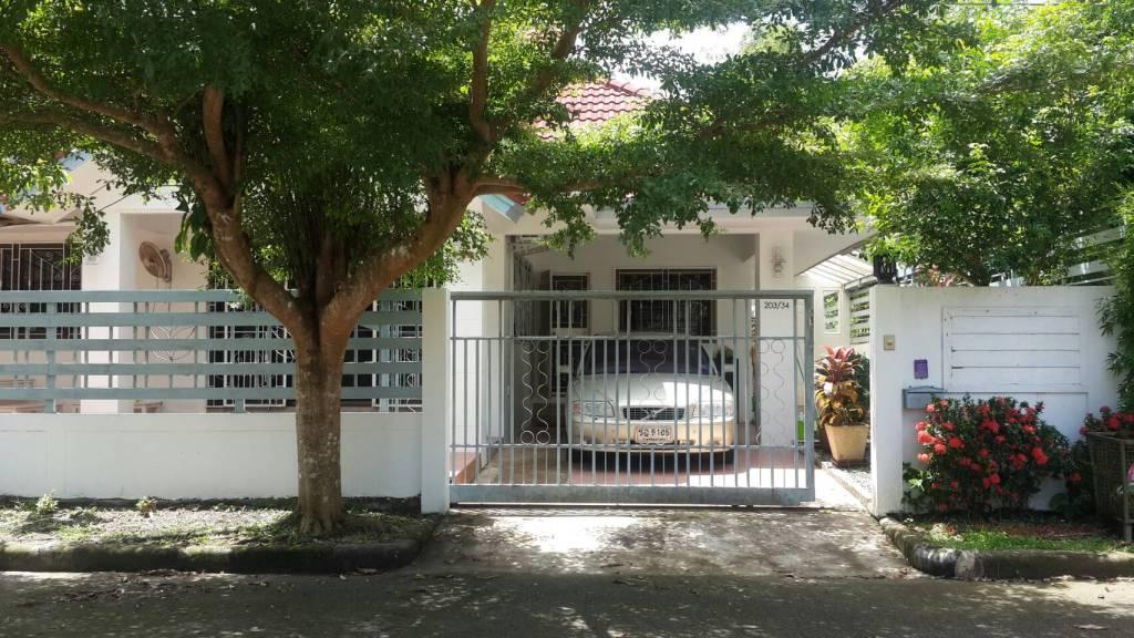 (ขาย) บ้านเดี่ยว หลังหัวมุม ตกแต่งพร้อมอยู่ (ภูเก็ต) One-storey house for Sale (Phuket)