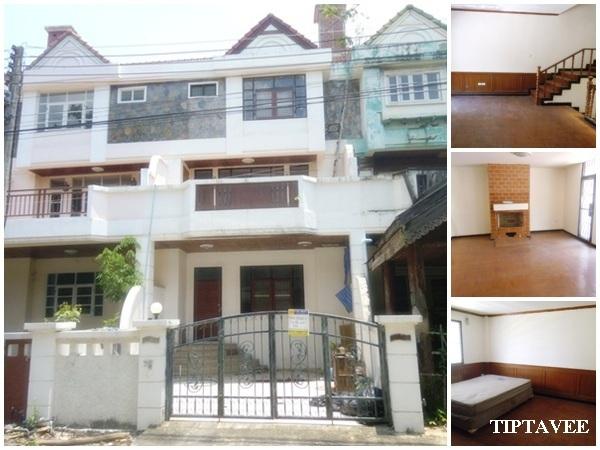 00010 ขายบ้านเชียงใหม่ ให้เช่าทาวน์เฮ้าส์ทองประกาย ดอนแก้ว แม่ริม ใกล้ศูนย์ราชการเชียงใหม่ / Townhouse for Sale-Rent, Donkaeo, Maerim, Chiangmai, THAI