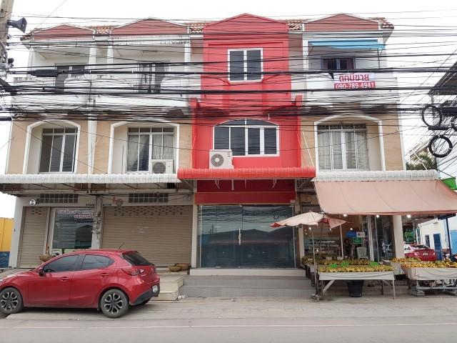 ขายอาคารพาณิชย์ ตึกแถว  ซอย เนินพลับหวาน มาบยายเลีย  หนองไม้แก่น บางละมุง พัทยา ชลบุรี