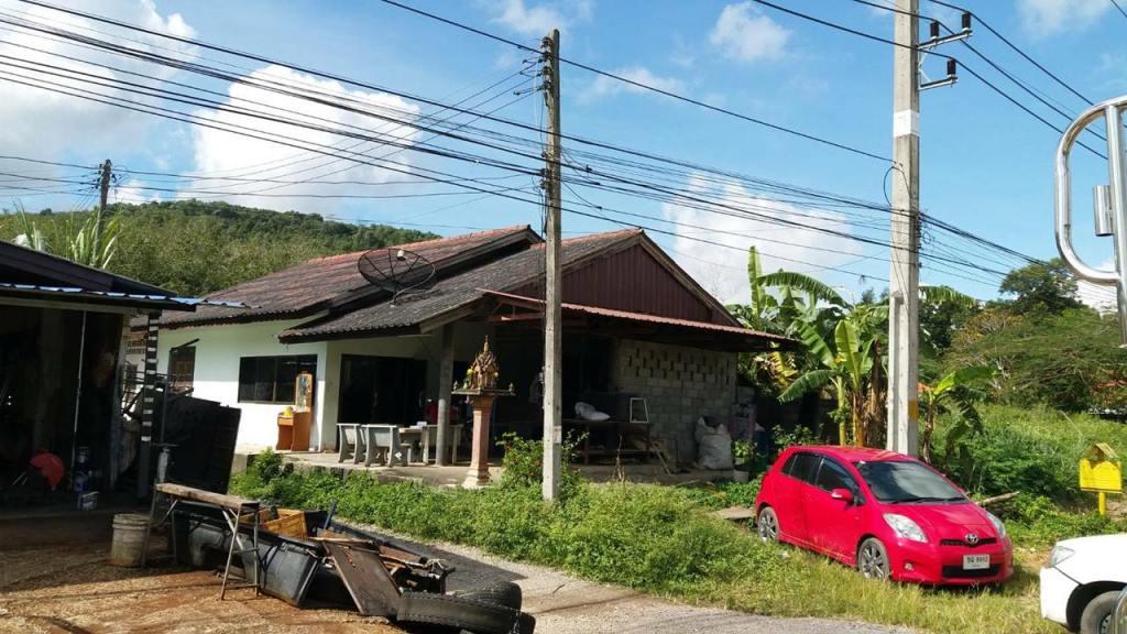 บ้านชั้นเดียว 47ตรว. กว้าง12เมตร ติดถนนเอเชีย ย่านก่อนถึงแยกเอเชียคลองหวะ ขาย3.2ล้านบาท-คุ้มค่ามาก