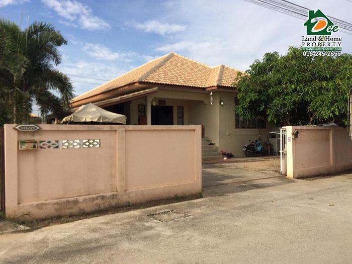 ขายบ้านเดี่ยว 1 ชั้น 93 ตรว. หมู่บ้านมณฑา5 บ้านกุ่ม เมืองเพชรบุรี (HM0082)