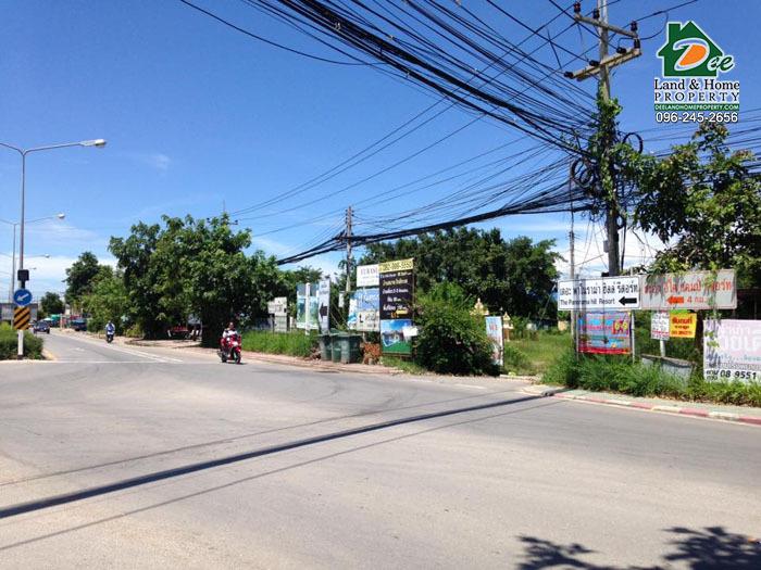 ขายที่ดินเปล่า 10 ไร่ 3 งาน 27 ตรว. ถนนคลองเทียน ชะอำ เพชรบุรี (LA0099)