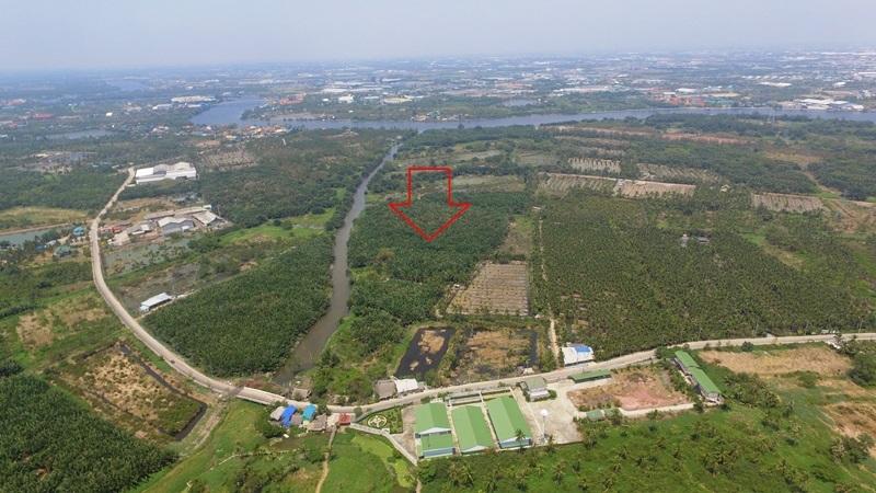 พิเศษ+ถูก ขายที่ดินสวยติดแม่น้ำท่าจีน ติดคลอง ติดถนนใกล้พระราม 2 เนื้อที่ 170 ไร่ ขายเพียงไร่ละ 2.6 ล้าน อย่าพลาด - ขายที่ดินสมุทรสาคร