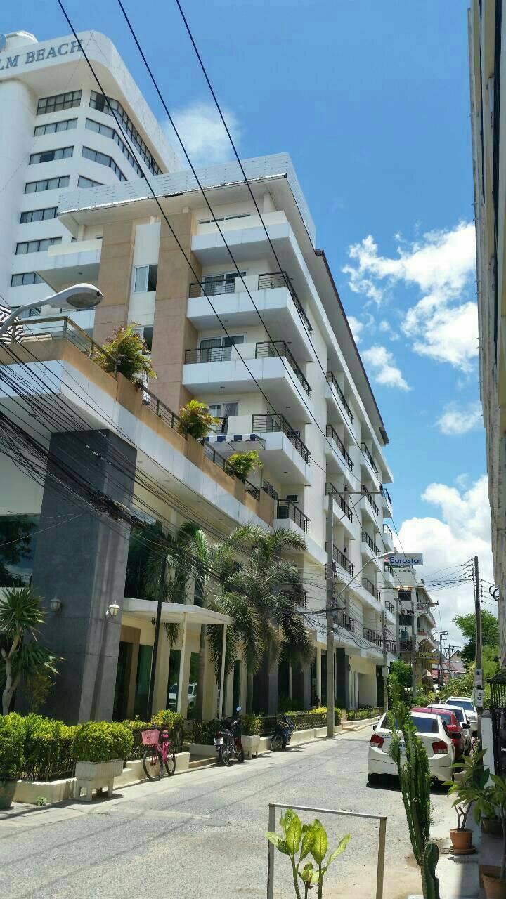 ขายโรงแรมพัทยา ติดหาดจอมเทียน 66ห้อง เนื้อที่ 1-17-0ไร่ EuroStar Jomtien Beach & Hotel