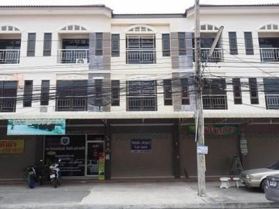 ตึกใหม่ 3 ชั้น ให้เช่า พร้อมทำกิจการได้เลย ใกล้อมตะนคร วัดอู่ตะเภา ใตลาดนินจา ชลบุรี