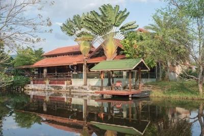 HS 343 ขายบ้านพร้อมที่ดินศรีราชา ชลบุรี วิวเขาเขียว ใกล้บางพระและสนามกอล์ฟ จำนวน 5 ไร่ พร้อมอยู่
