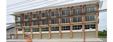 ให้เช่า อาคารพาณิชย์ 3.5 ชั้น ติดถนนใหญ่ ใกล้ตลาดน้ำดอนหวาย แยกกระทุ่มแบน พุทธสาคร