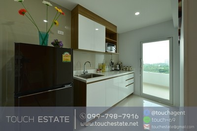 Condo+Sriracha+For Rent+No1322+Corner room+Hill View+13F+16,500B