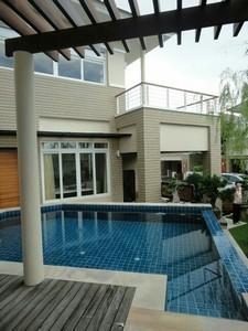 Selling luxury pool villa 2 stories house just opposite NongNut Garden