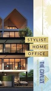 ขาย Home Office ทำเป็น TwinHouse สวยงาม เปิดบริษัทได้เลยทันทีเลยย