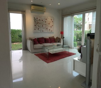 Home for Sale - Seaside with Private Beach in Chonburi - Casalunar Village 3 Bed 3 Bath 1 Kitchen Fully Furnished Ready to move in
