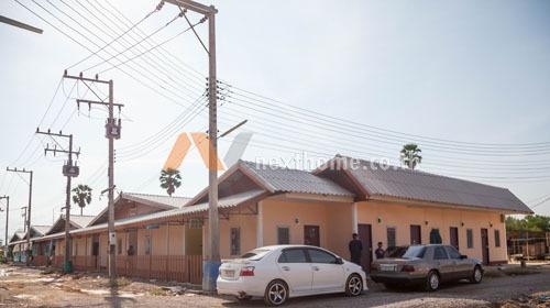 กิจการอพาร์ทเม้นและที่ดิน   นิคมเพชรบุรี   ห้องเช่า 40 ห้อง 1 ชั้น 320วา สภาพใหม่ พร้อมคนเช่าเต็มทุกห้อง