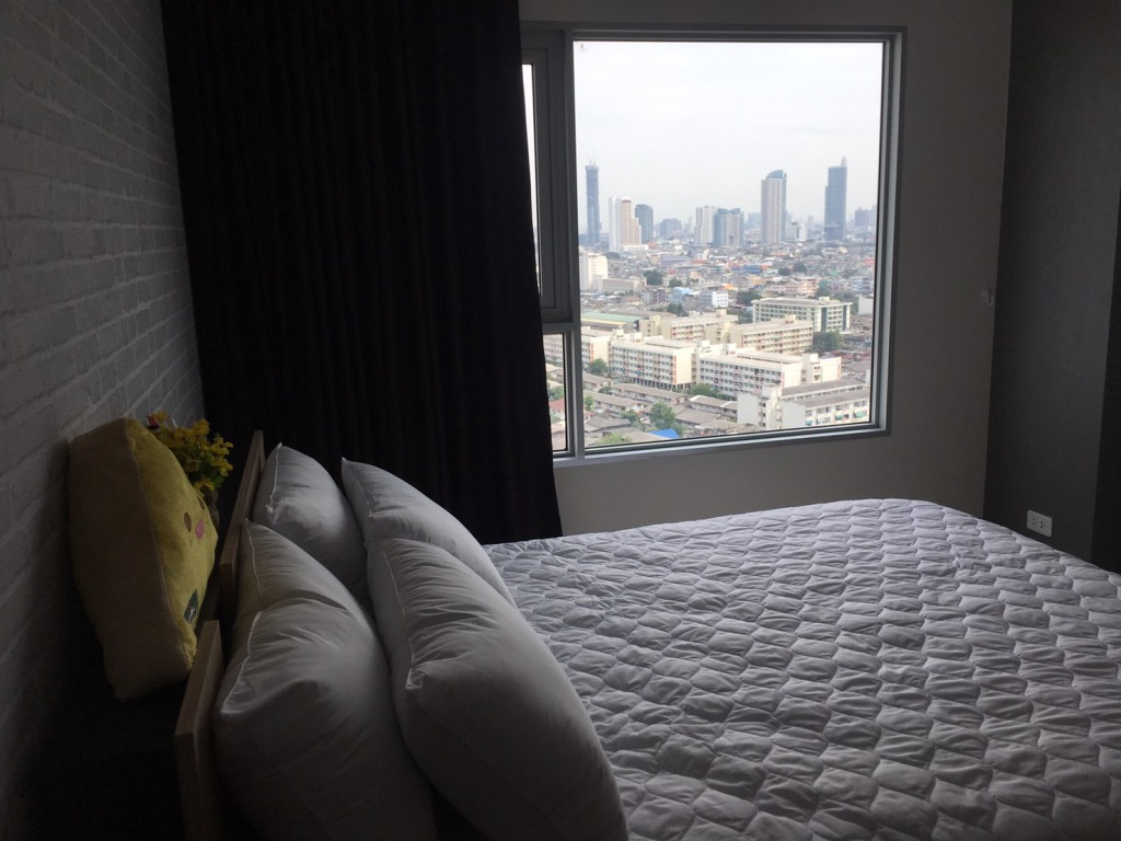 For rent Aspire Sathorn Thapra 1bed fully furnished brand new room.