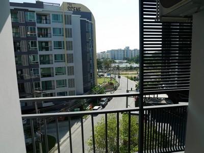 คอนโดให้เช่าถูก Living Avenue บางแสน อาคารD ชั้น5 ขนาด 30ตร.ม เฟอร์ครบ มีฟิตเนส และ สระว่ายน้ำใหญ่